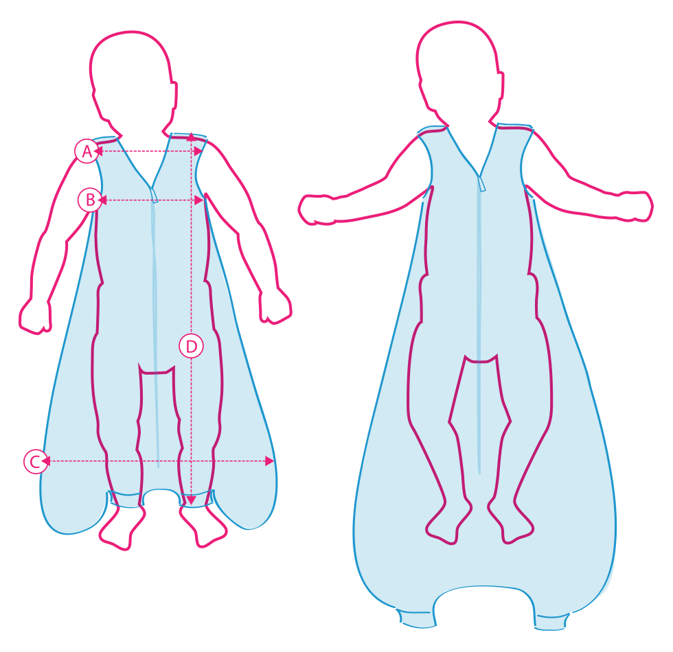 Sleeping Bags with Feet Size Chart